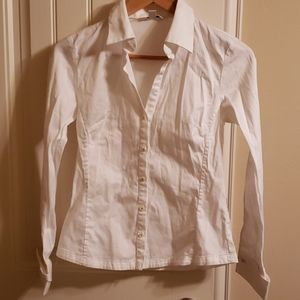 Banana Republic white dress shirt